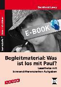 Cover-Bild zu Begleitmaterial: Was ist los mit Paul? (eBook) von Lewy, Bernhard