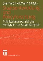 Cover-Bild zu Holtmann, Everhard (Hrsg.): Staatsentwicklung und Policyforschung