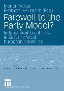 Cover-Bild zu Reiser, Marion (Hrsg.): Farewell to the Party Model? (eBook)
