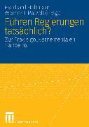 Cover-Bild zu Holtmann, Everhard (Hrsg.): Führen Regierungen tatsächlich? (eBook)