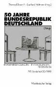 Cover-Bild zu Holtmann, Everhard (Hrsg.): 50 Jahre Bundesrepublik Deutschland