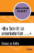Cover-Bild zu Pasley, Malcolm: »Die Schrift ist unveränderlich ?«