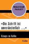Cover-Bild zu Pasley, Malcolm: »Die Schrift ist unveränderlich ...« (eBook)