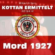 Cover-Bild zu Zenker, Helmut: Kottan ermittelt, Folge 6: Mord 1927 (Audio Download)