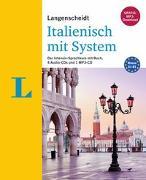 Cover-Bild zu Langenscheidt Italienisch mit System - Sprachkurs für Anfänger und Fortgeschrittene von Costantino, Roberta