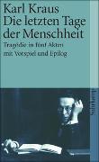Cover-Bild zu Kraus, Karl: Schriften in den suhrkamp taschenbüchern. Erste Abteilung. Zwölf Bände