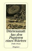 Cover-Bild zu Dürrenmatt, Friedrich: Aus den Papieren eines Wärters