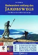 Cover-Bild zu eBook Radwandern entlang des Jakobswegs