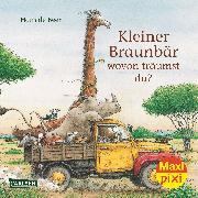 Cover-Bild zu de Beer, Hans (Illustr.): Carlsen Verkaufspaket. Maxi-Pixi 223. Kleiner Braunbär, wovon träumst du?