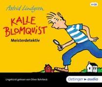 Cover-Bild zu Kalle Blomquist Meisterdetektiv (4 CD)