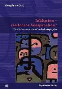 Cover-Bild zu Inklusion - ein leeres Versprechen? (eBook) von Feuser, Georg
