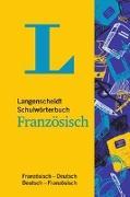 Cover-Bild zu Langenscheidt Schulwörterbuch Französisch - Mit Info-Fenstern zu Wortschatz & Landeskunde