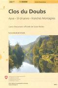 Cover-Bild zu Clos du Doubs. 1:50'000