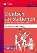 Cover-Bild zu Deutsch an Stationen Buchstaben kennenlernen von Bettner, Melanie