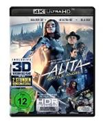 Cover-Bild zu Robert Rodriguez (Reg.): Alita - Battle Angel 4K + 3D