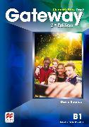 Cover-Bild zu Spencer, David: Gateway 2nd Edition B1 Student's Book Pack