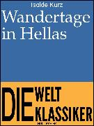Cover-Bild zu eBook Wandertage in Hellas
