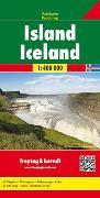 Cover-Bild zu Island, Autokarte 1:400.000. 1:400'000