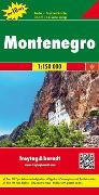Cover-Bild zu Montenegro, Autokarte 1:150.000, Top 10 Tips. 1:150'000