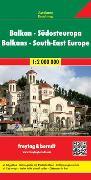 Cover-Bild zu Balkan - Südosteuropa, Autokarte 1:2.Mio. 1:2'000'000