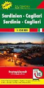 Cover-Bild zu Sardinien - Cagliari, Autokarte 1:150.000, Top 10 Tips. 1:150'000