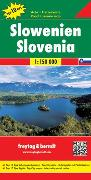 Cover-Bild zu Slowenien, Autokarte 1:150.000, Top 10 Tips. 1:150'000