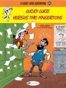 Cover-Bild zu Pennac, Daniel: Lucky Luke Versus the Pinkertons