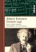 Cover-Bild zu Einstein, Albert: Einstein sagt