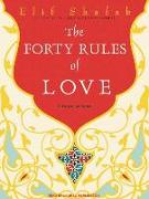 Cover-Bild zu Shafak, Elif: The Forty Rules of Love: A Novel of Rumi