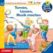 Cover-Bild zu Droop, Constanza: Wieso? Weshalb? Warum? junior. Turnen, tanzen, Musik machen