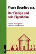 Cover-Bild zu Bourdieu, Pierre: Der Einzige und sein Eigenheim