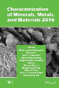 Cover-Bild zu Characterization of Minerals, Metals, and Materials 2016 (eBook) von Ikhmayies, Shadia (Hrsg.)