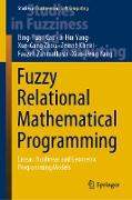 Cover-Bild zu Fuzzy Relational Mathematical Programming (eBook) von Cao, Bing-Yuan