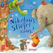 Cover-Bild zu Weber, Susanne: Nikolaus, Stiefel raus!