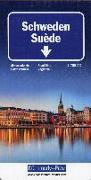 Cover-Bild zu Schweden Strassenkarte 1:750 000. 1:750'000