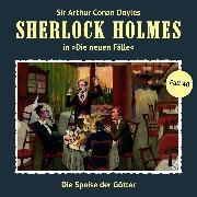 Cover-Bild zu Krüger, Peter: Sherlock Holmes, Die neuen Fälle, Fall 40: Die Speise der Götter (Audio Download)