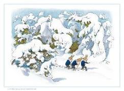 Cover-Bild zu Kreidolf, Ernst: Gnomes in the Snow Advent Calendar