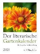 Cover-Bild zu Bachstein, Julia (Hrsg.): Der literarische Gartenkalender 2021