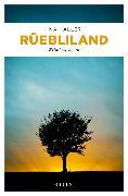 Cover-Bild zu Haller, Ina: Rüebliland (eBook)