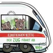Cover-Bild zu Wieker, Katharina: Mein kleiner Fahrzeugspaß: Einsteigen bitte! Der Zug fährt ab!