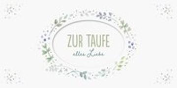 Cover-Bild zu Zur Taufe alles Liebe von Habermeier, Silvia (Illustr.)