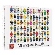 Cover-Bild zu LEGO® Minifigure 1000-Piece Puzzle von LEGO