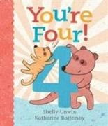 Cover-Bild zu Battersby, Katherine (Illustr.): You're Four!
