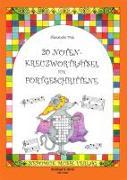 Cover-Bild zu Fink, Alexandra: 20 Notenkreuzworträtsel für Fortgeschrittene