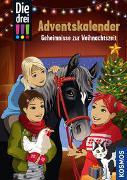 Cover-Bild zu Die drei !!!, Geheimnisse zur Weihnachtszeit