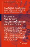 Cover-Bild zu Trzcielinski, Stefan (Hrsg.): Advances in Manufacturing, Production Management and Process Control (eBook)