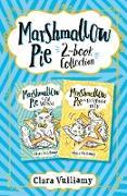 Cover-Bild zu Vulliamy, Clara: Marshmallow Pie 2-book Collection, Volume 1: Marshmallow Pie the Cat Superstar, Marshmallow Pie the Cat Superstar on TV (eBook)
