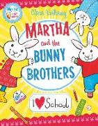Cover-Bild zu Vulliamy, Clara: I Heart School (Martha and the Bunny Brothers) (eBook)