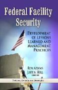 Cover-Bild zu Adams, Roy (Hrsg.): Federal Facility Security