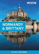 Cover-Bild zu eBook Moon Normandy & Brittany